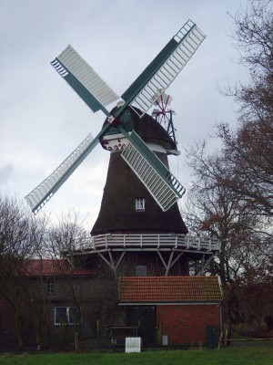 Sandhorster Mühle, von Hans Kutsch