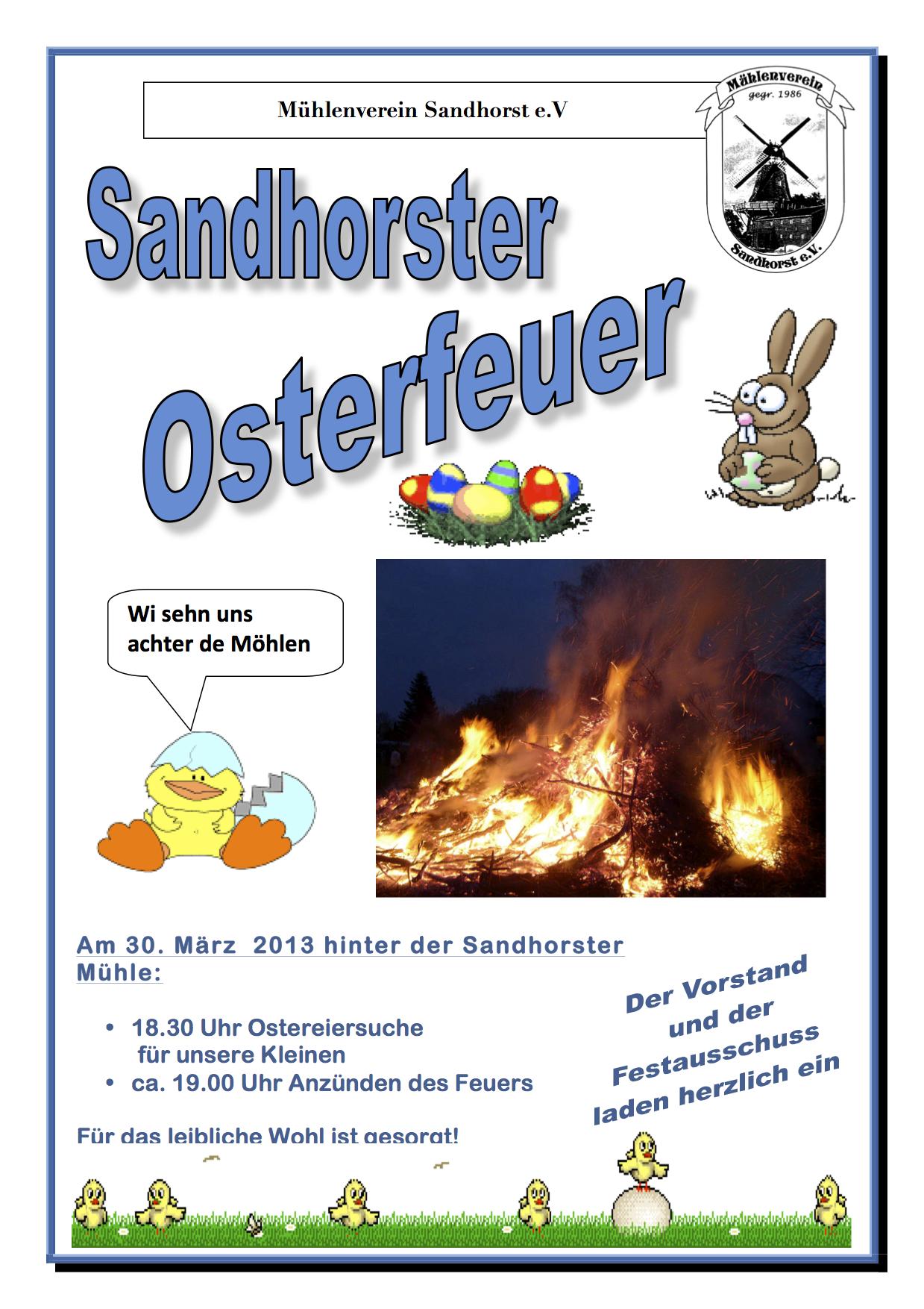 Plakat_Osterfeuer_2013