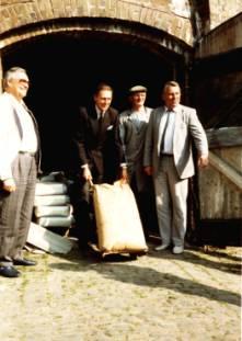 Die Sandhorster Mühle im Juli 1951
